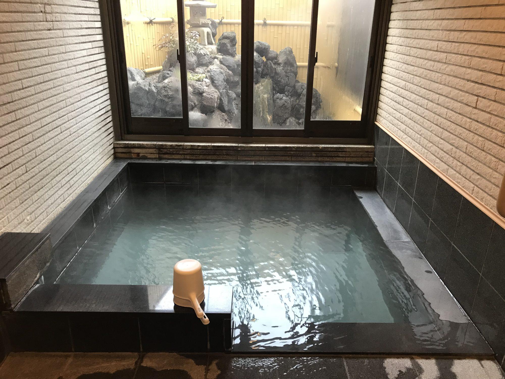 旅館たむらのお風呂