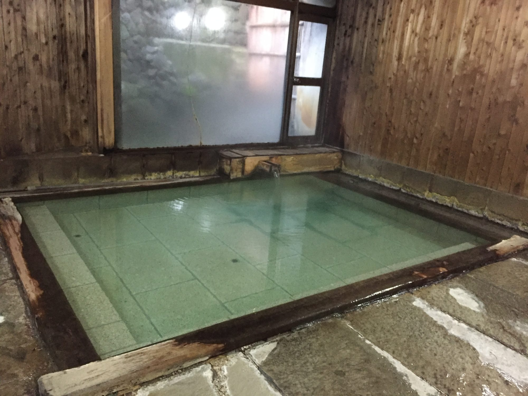 草津温泉のお風呂