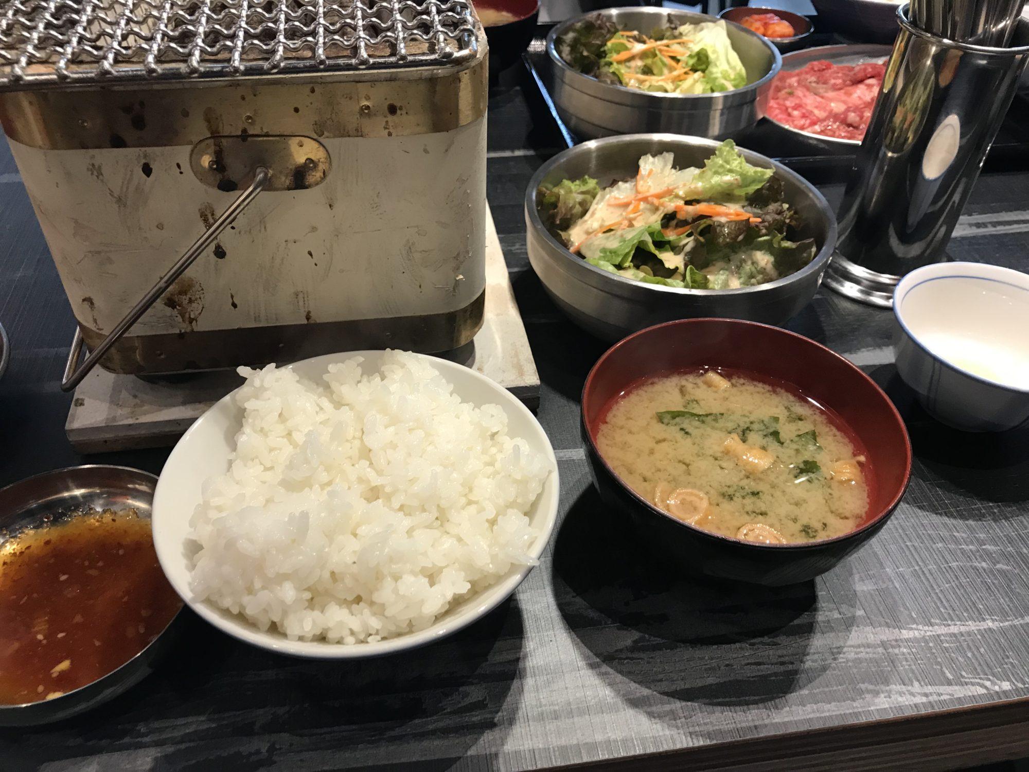 日本焼肉党浅草橋西口店焼肉定食