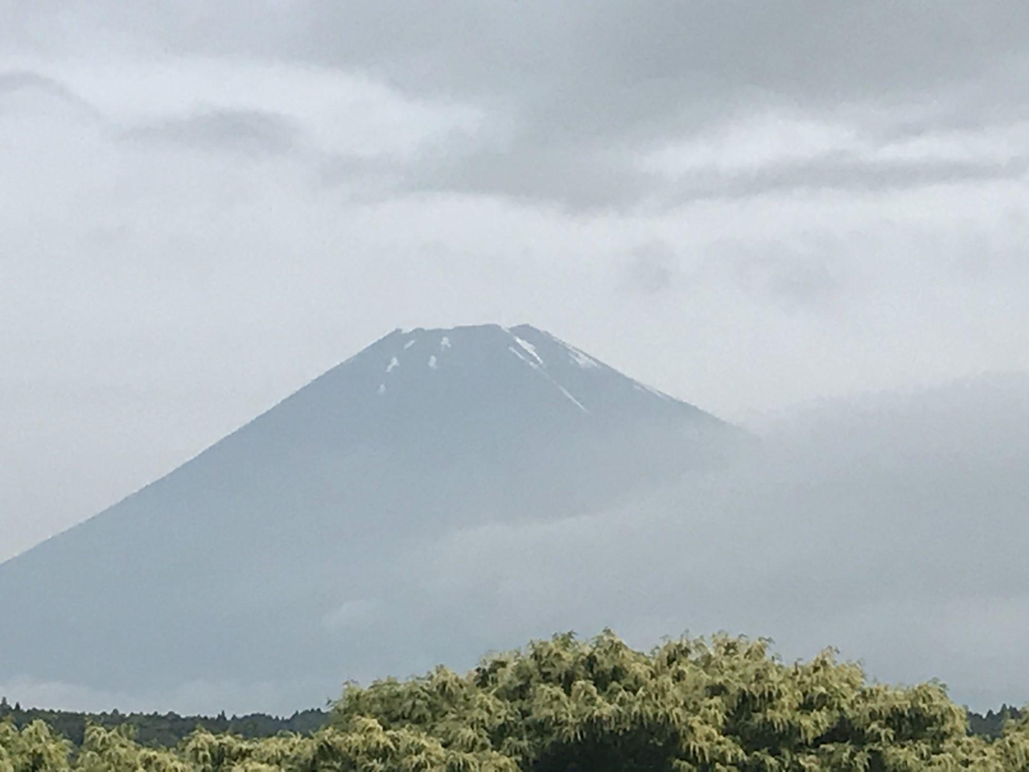 久しぶりに見えた、富士山