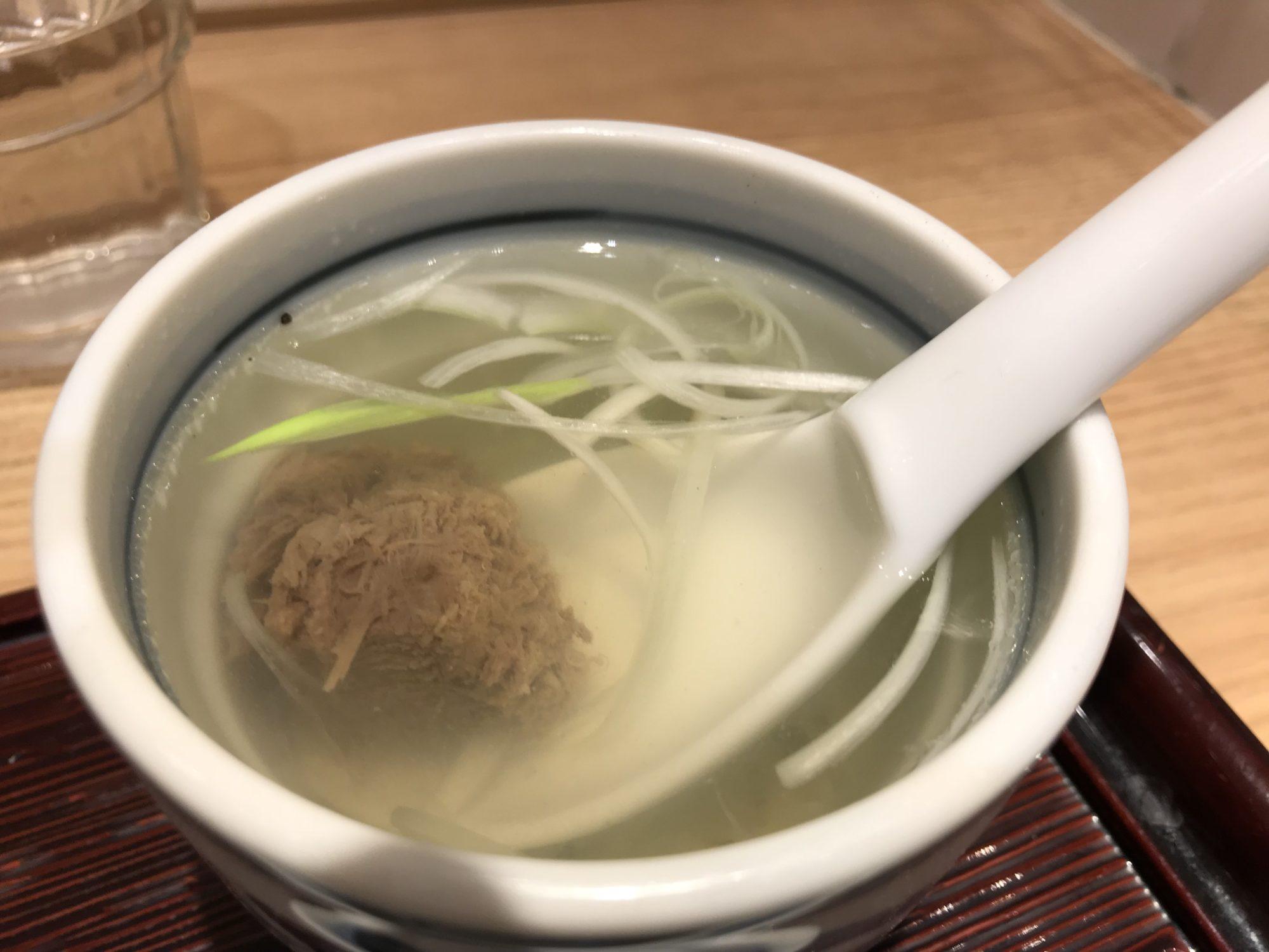高栄養テールスープ