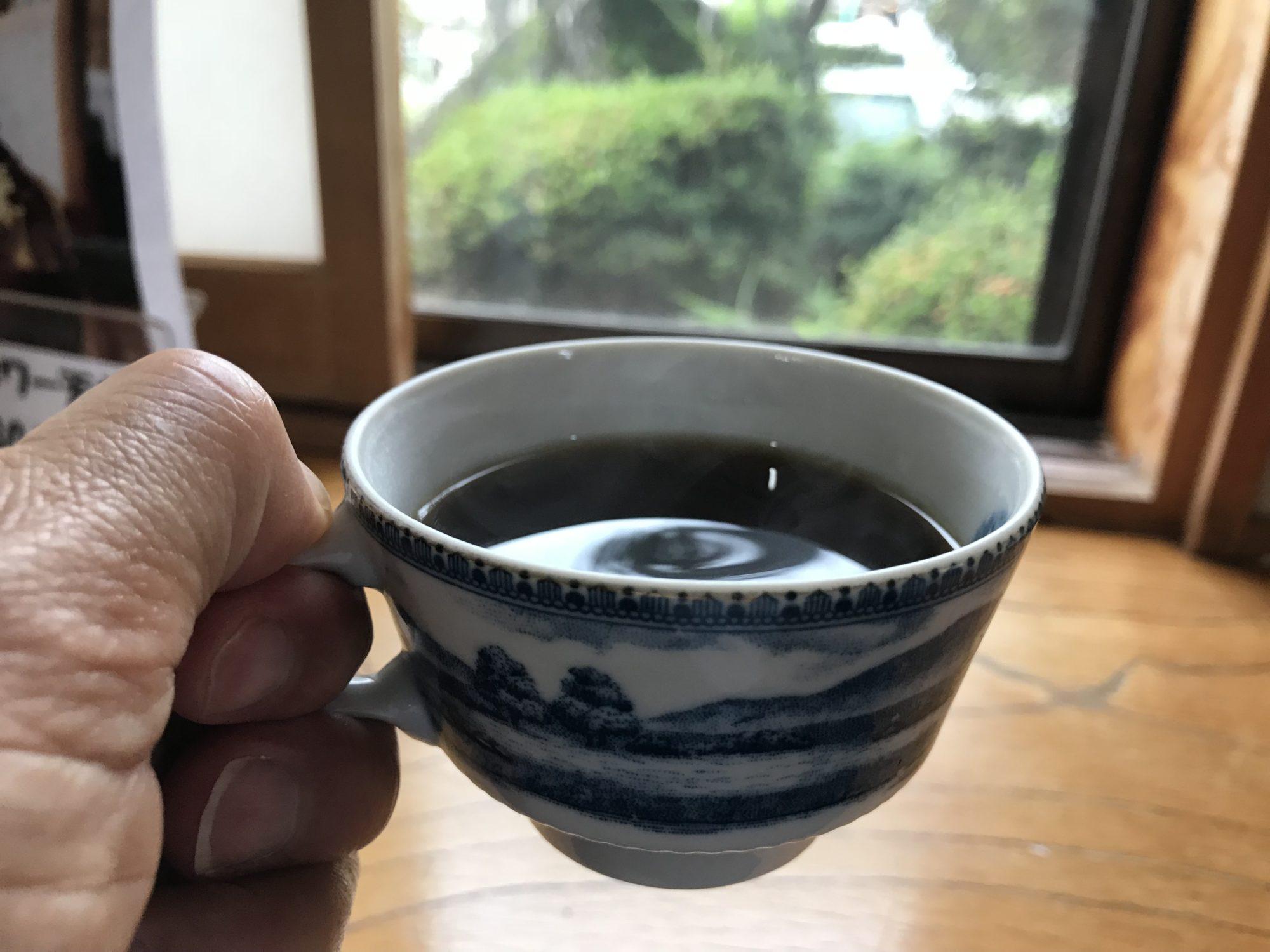 セルフのコーヒー