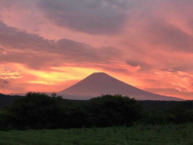 紅い富士山