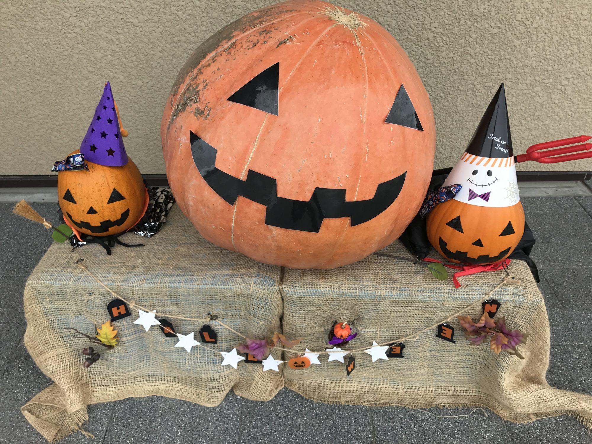 ハロウィンのかぼちゃの仮面