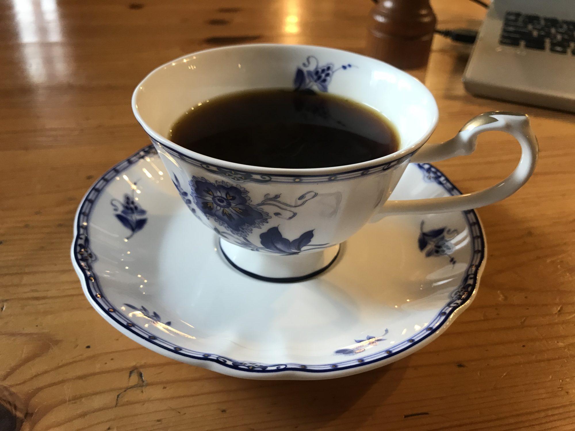 飯山四分休符のコーヒー