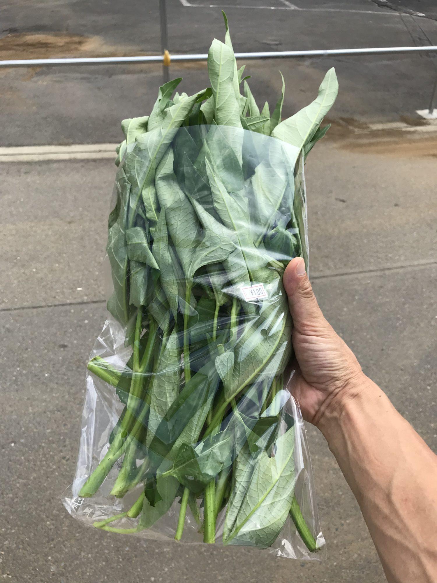 飯山絆の会の野菜