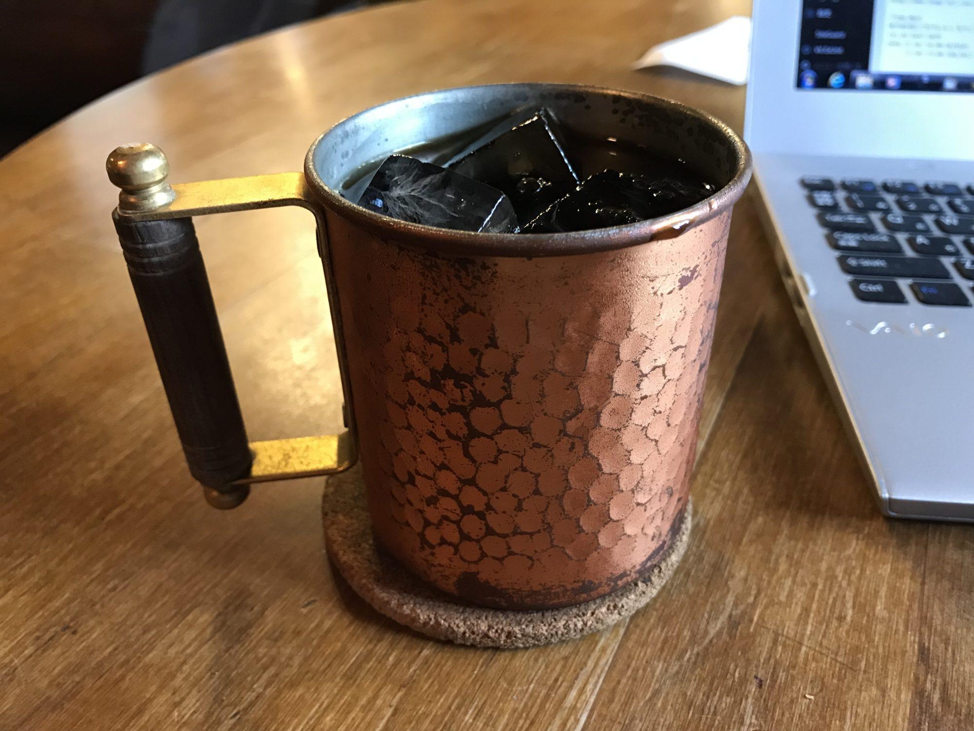 四分休符アイスコーヒー
