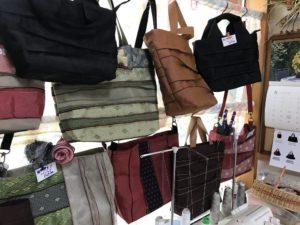 畳の縁で作ったバッグ