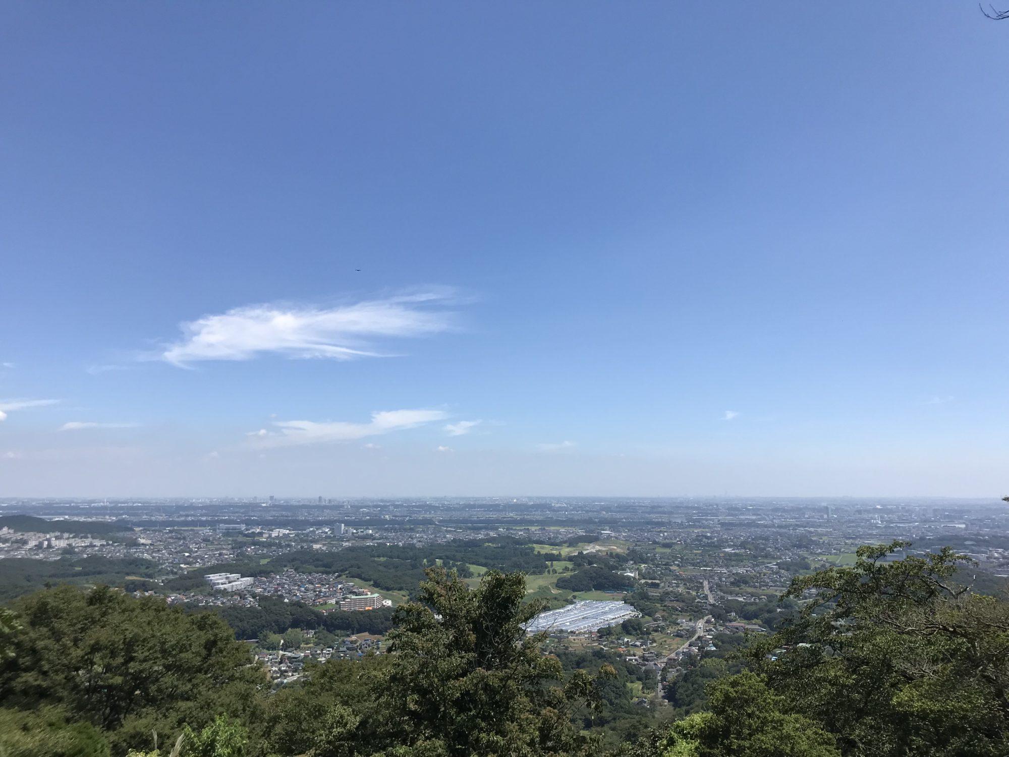 厚木白山からの展望