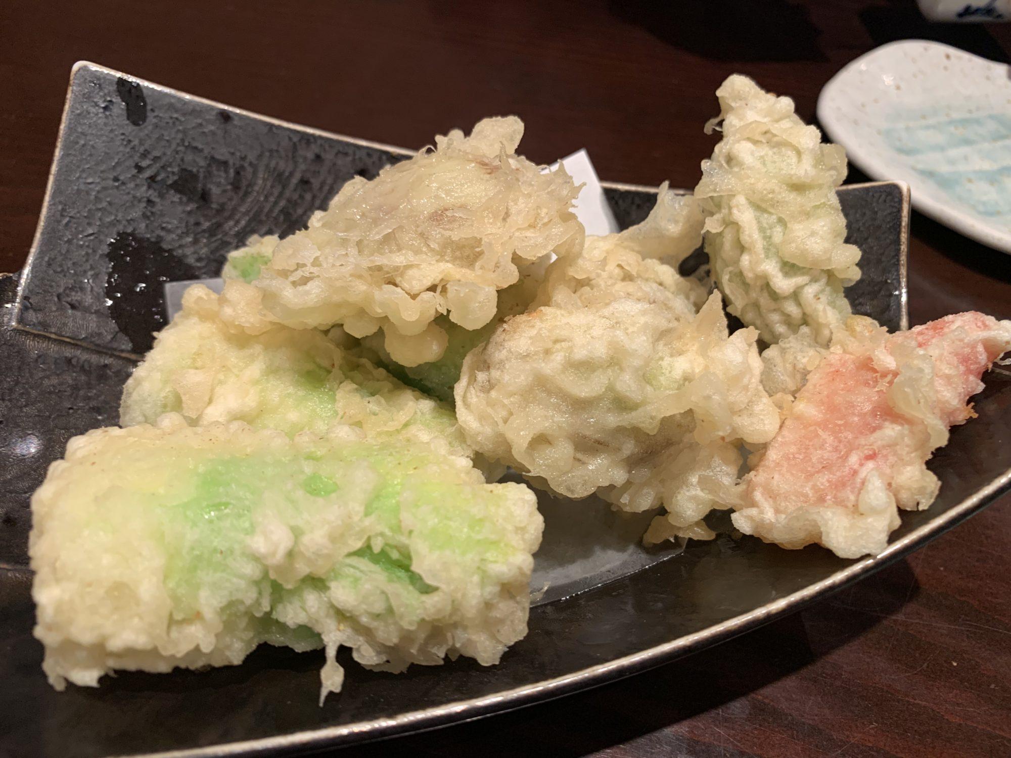 板そば喜右衛門季節の天ぷら