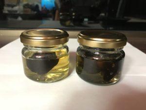 試作中の蜂蜜黒にんにく