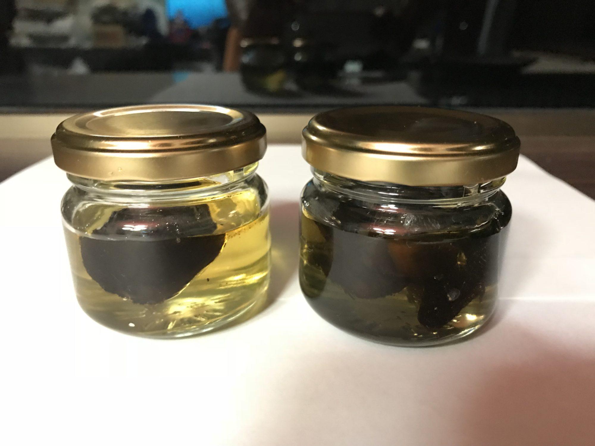 黒にんにく蜂蜜第一次試作8月28夜漬け始め