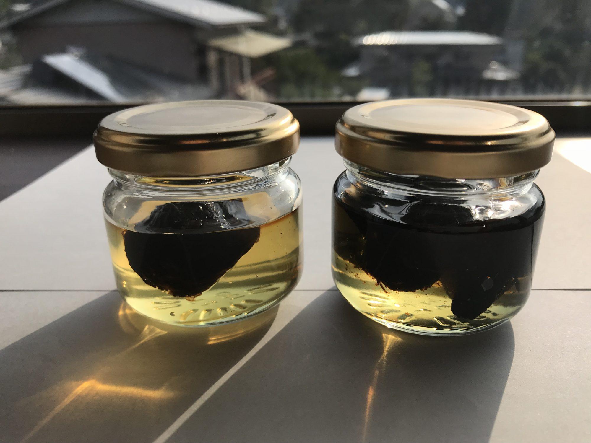 黒にんにく蜂蜜第一次試作8月29日