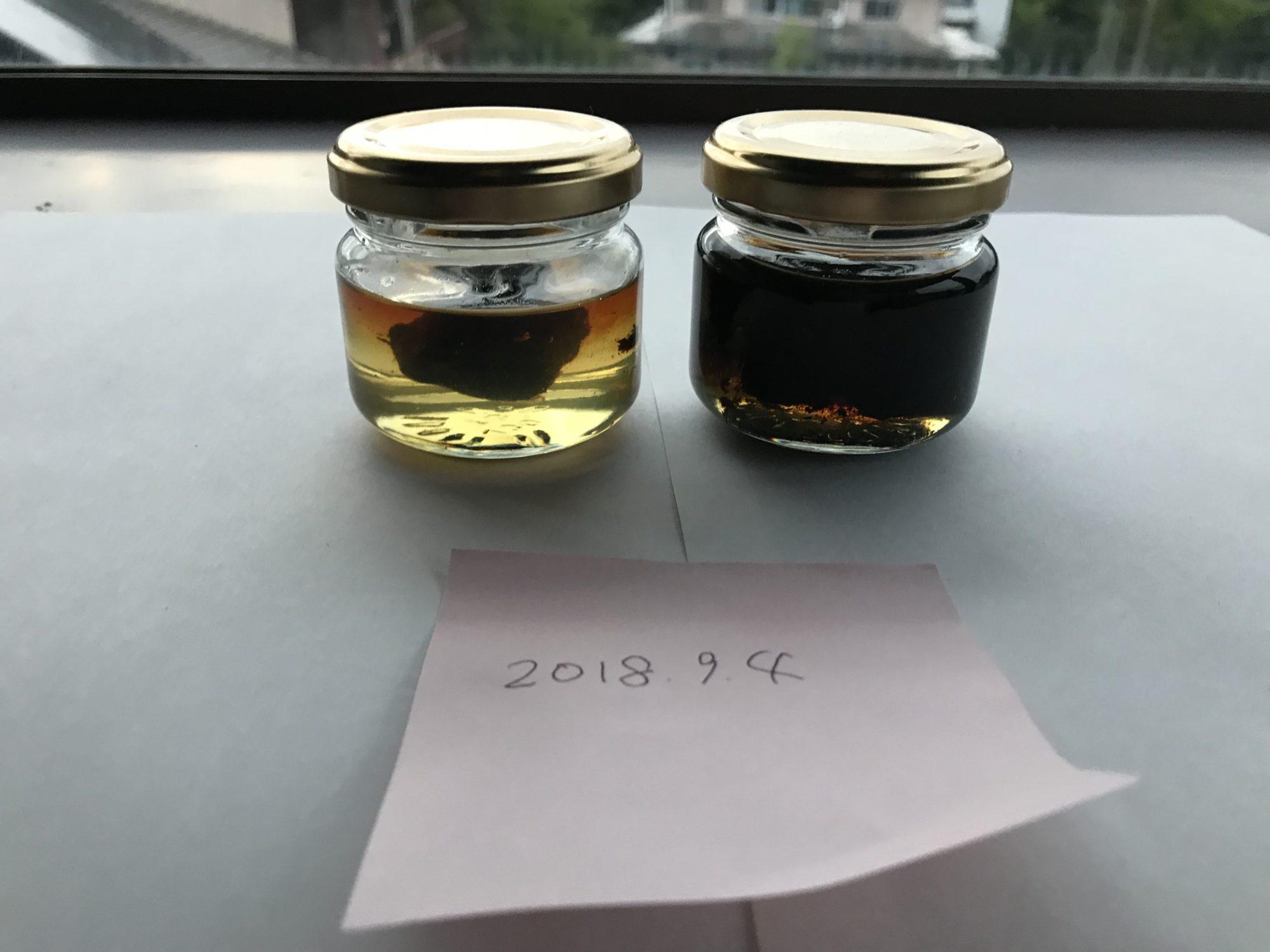 黒にんにく蜂蜜第一次試作9月4日