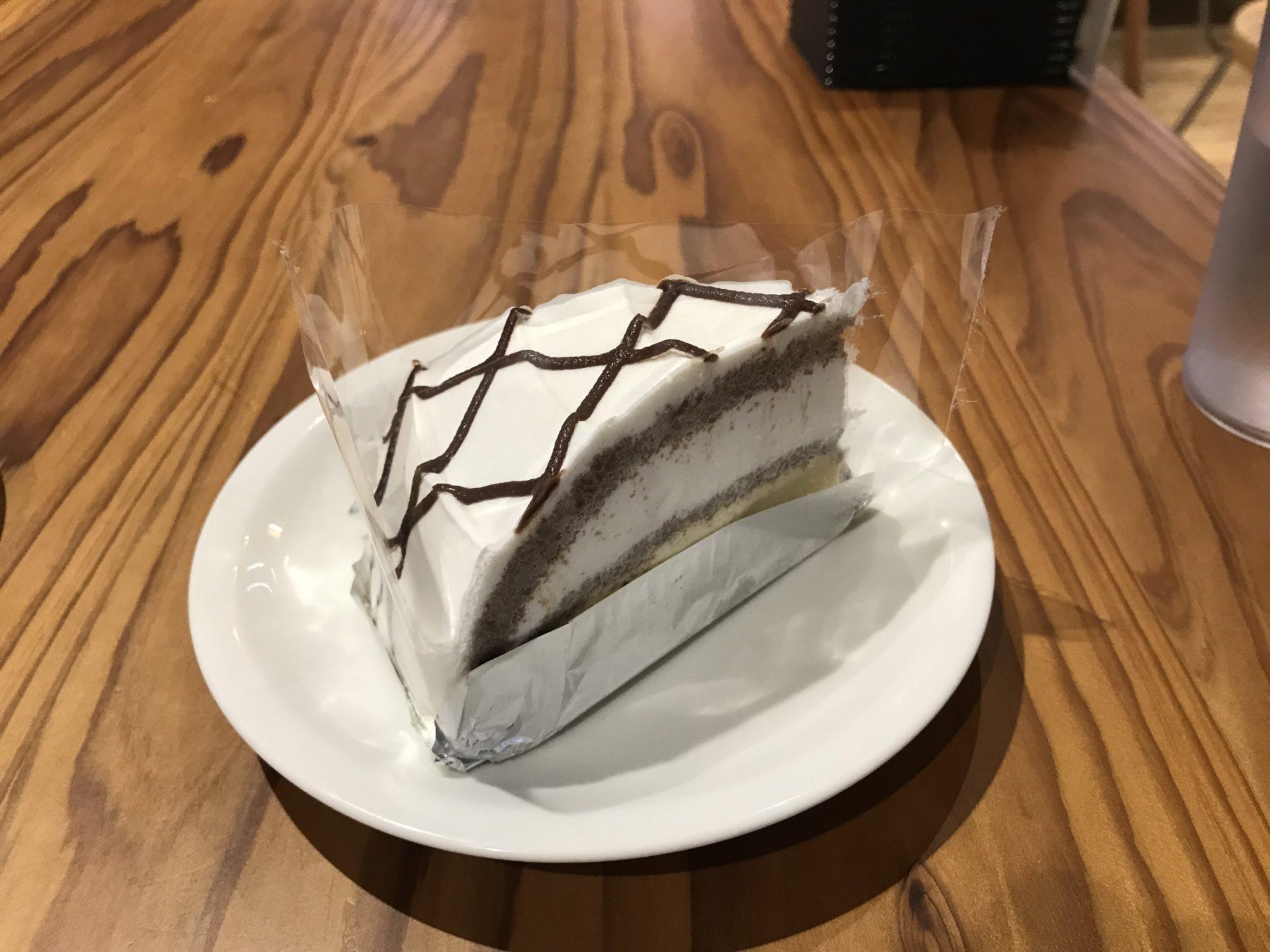 みなとパーク芝浦カフェフルールケーキ