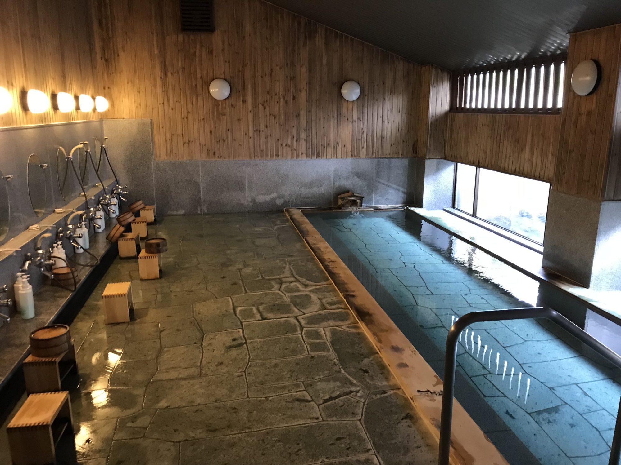 河口湖泰平館お風呂