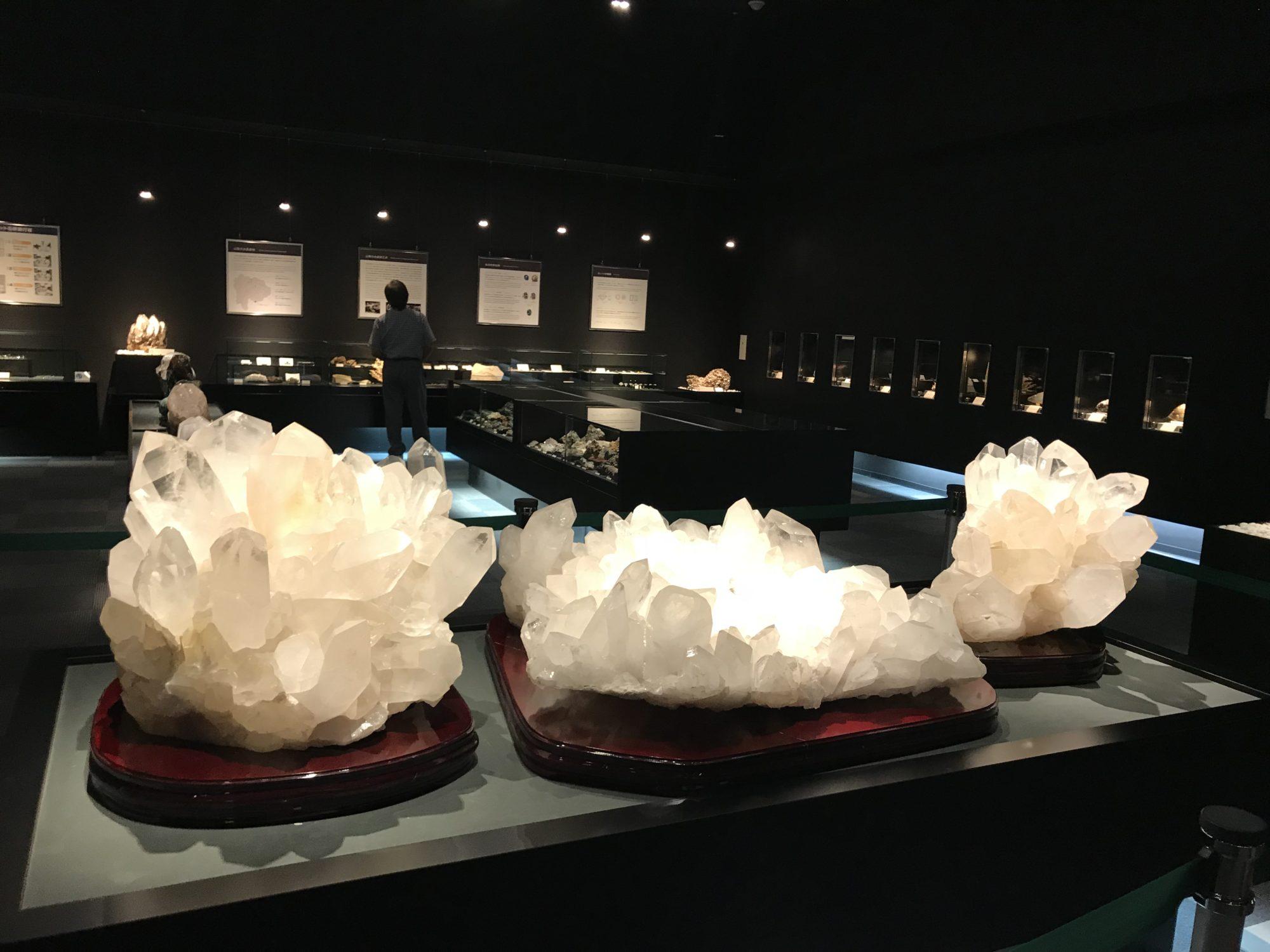 山梨宝石博物館クラスター
