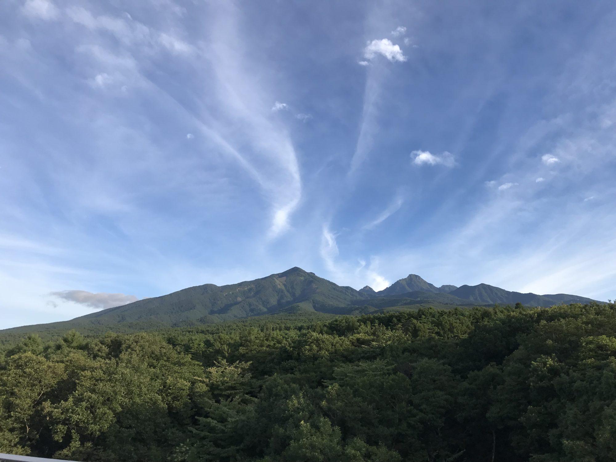 ロイヤルホテル八ヶ岳からの八ヶ岳