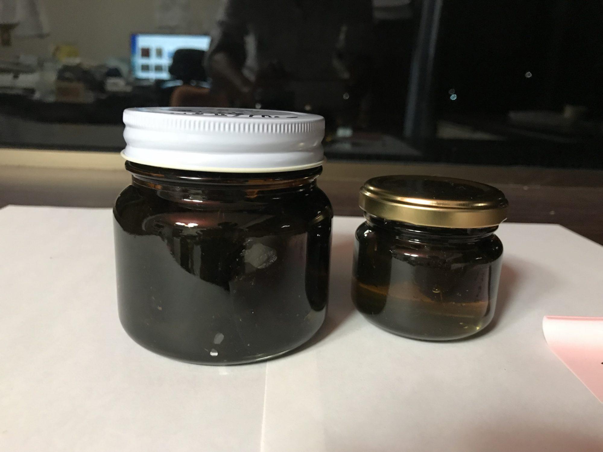 黒にんにく蜂蜜漬け20180927夜開始