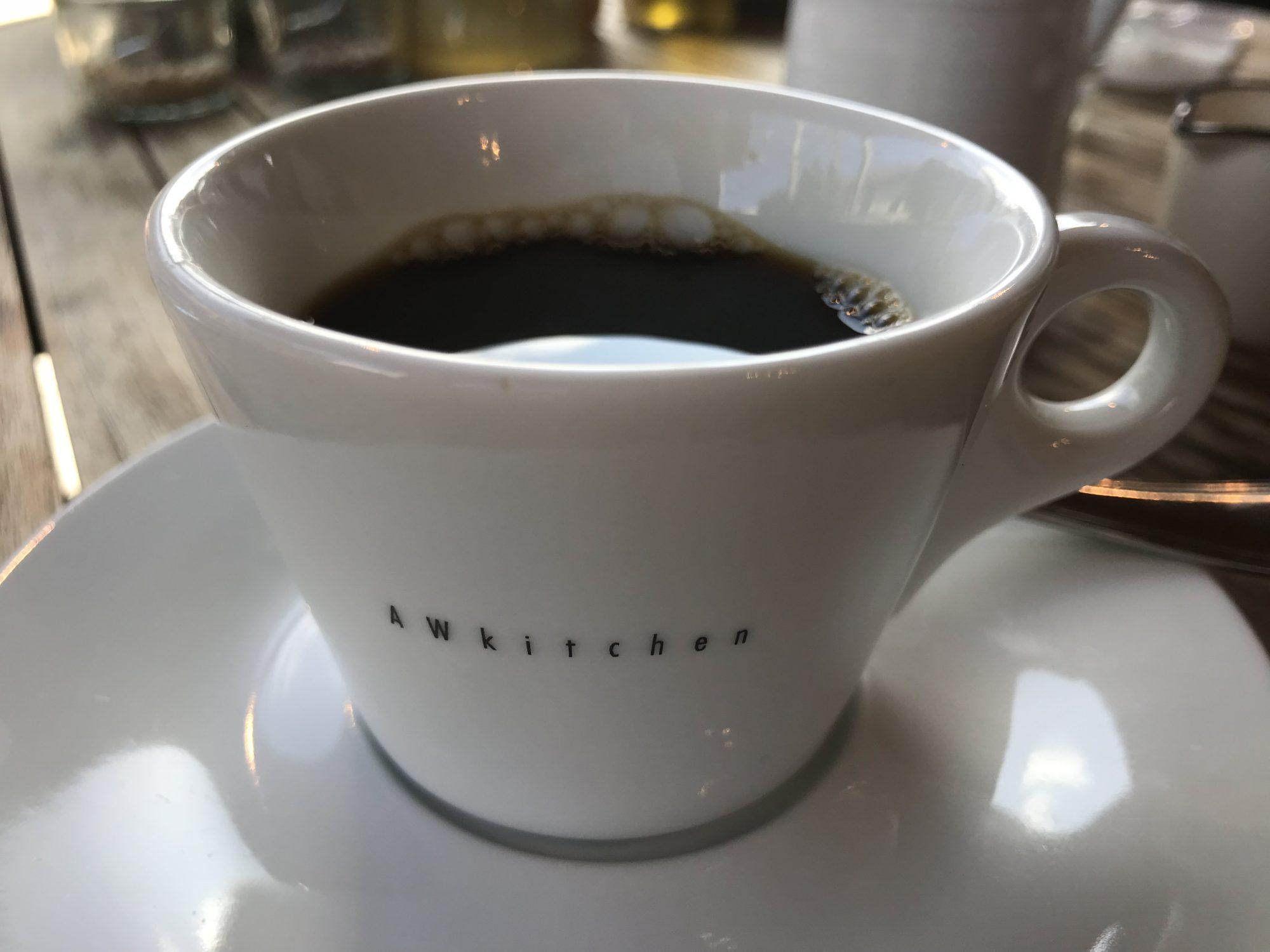 AWkitchen GARDENコーヒー
