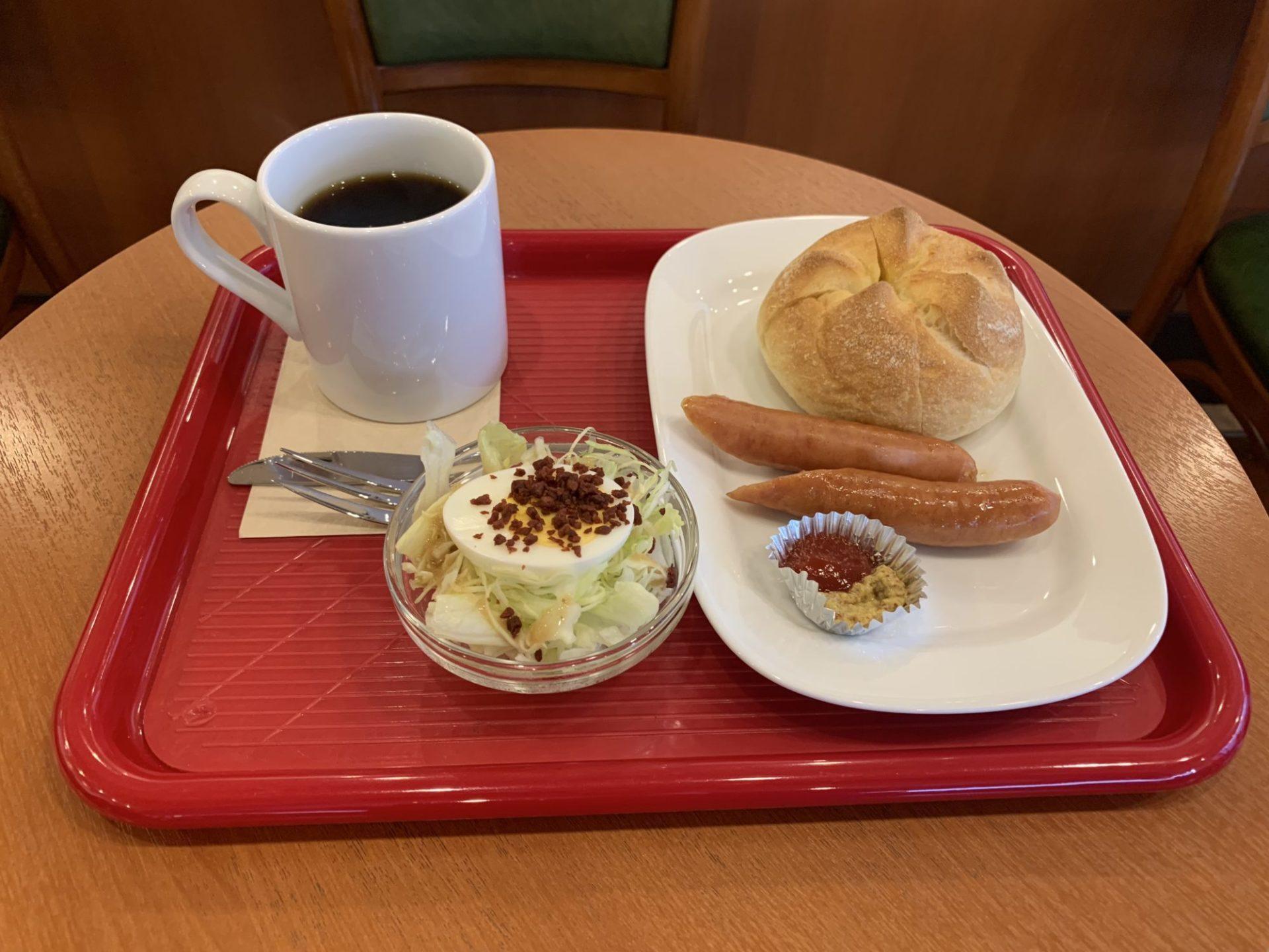 カフェ・ベローチェ 立川南駅前店のモーニングC