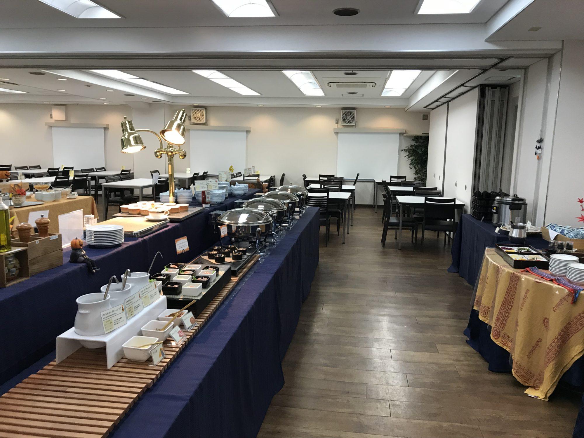 大阪コロナホテル朝食