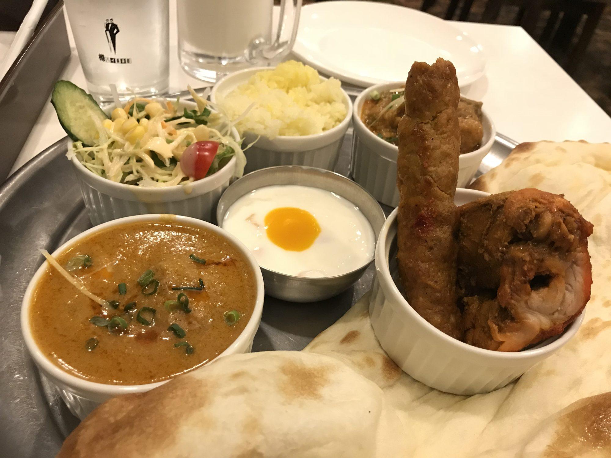 アラジン インドレストラン、マハラジャセット