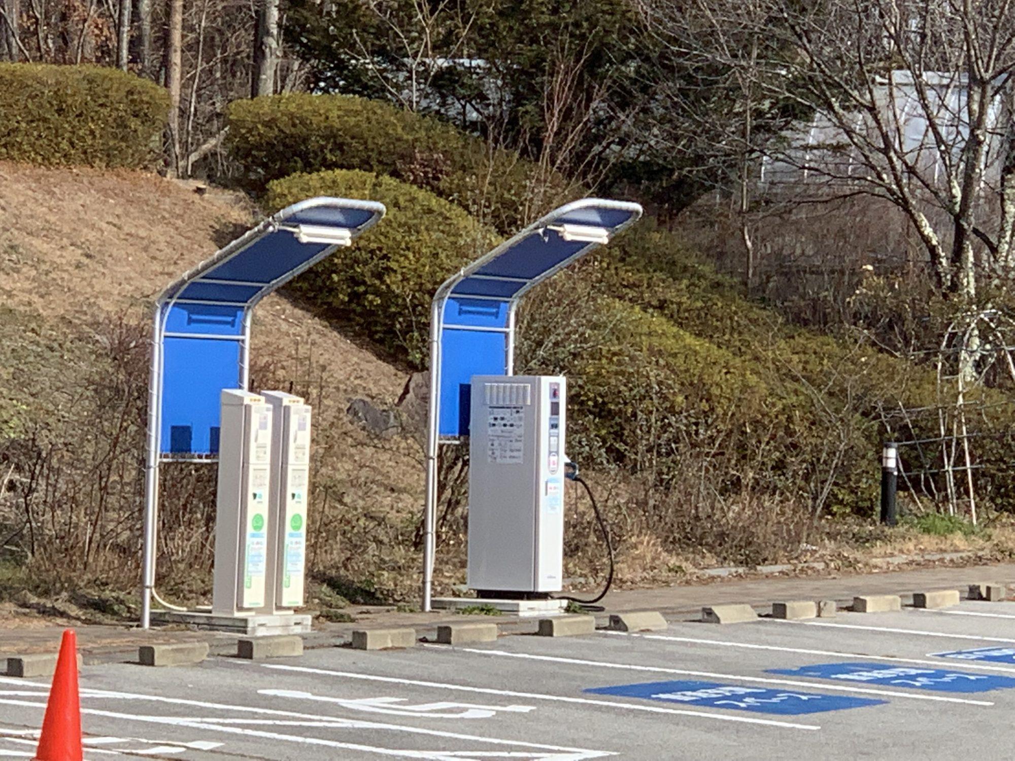 ロイヤルホテル八ヶ岳電気自動車充電施設