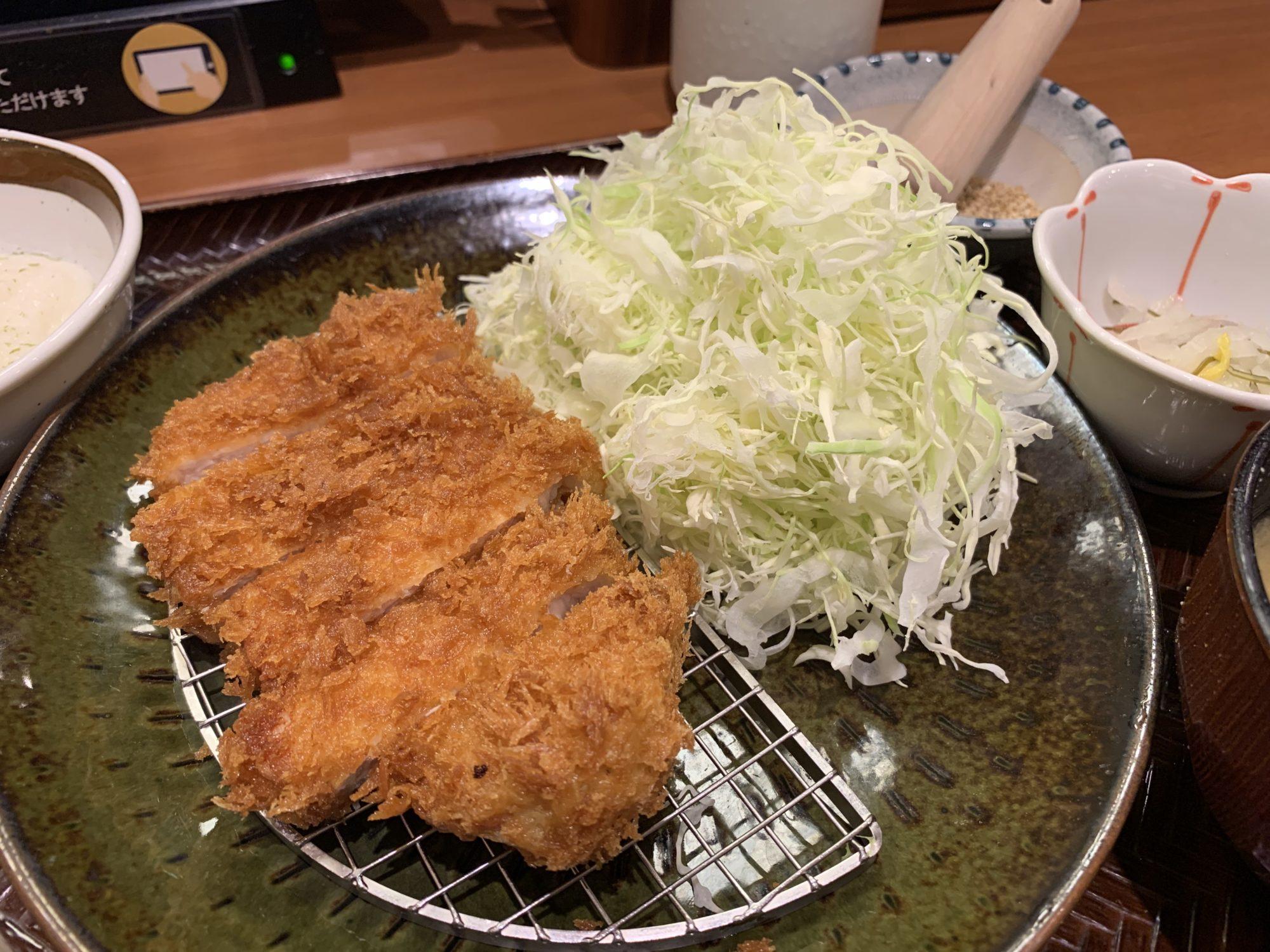 かつ庵川崎生田店ロースかつ