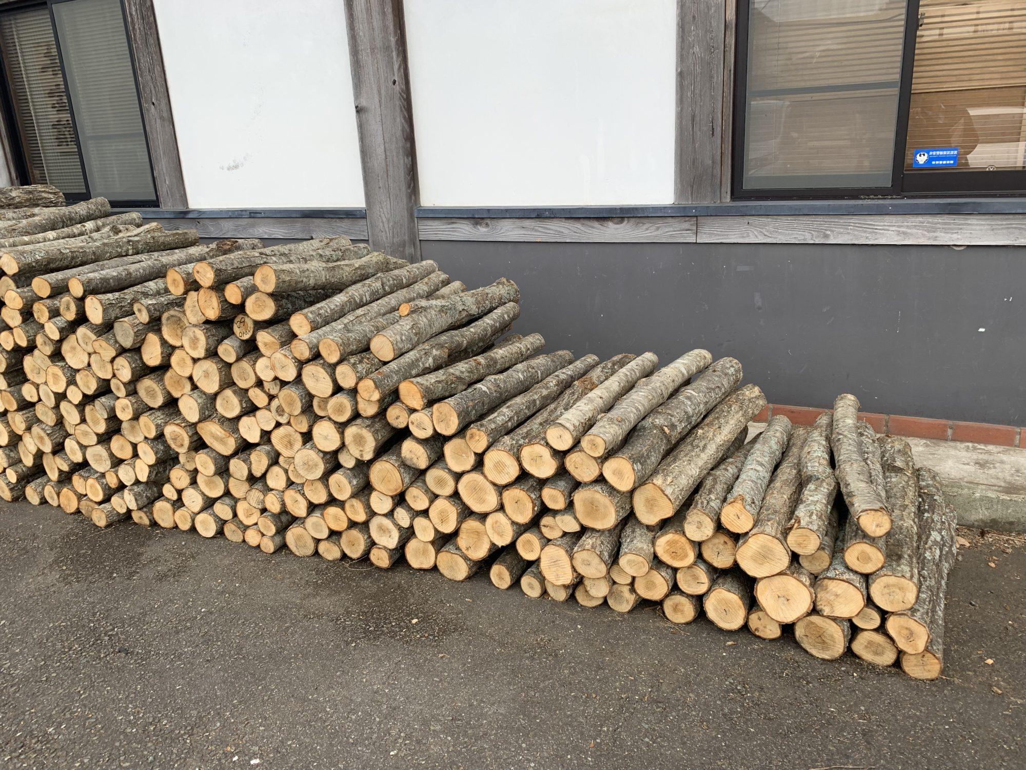 厚木市森林組合ほだ木