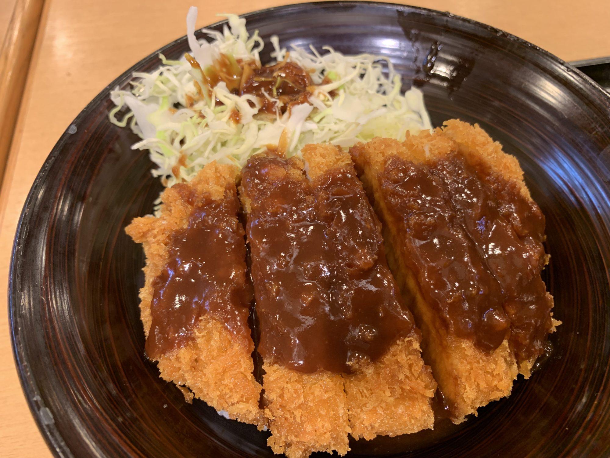 刈谷ハイウエイオアシス味噌カツ丼