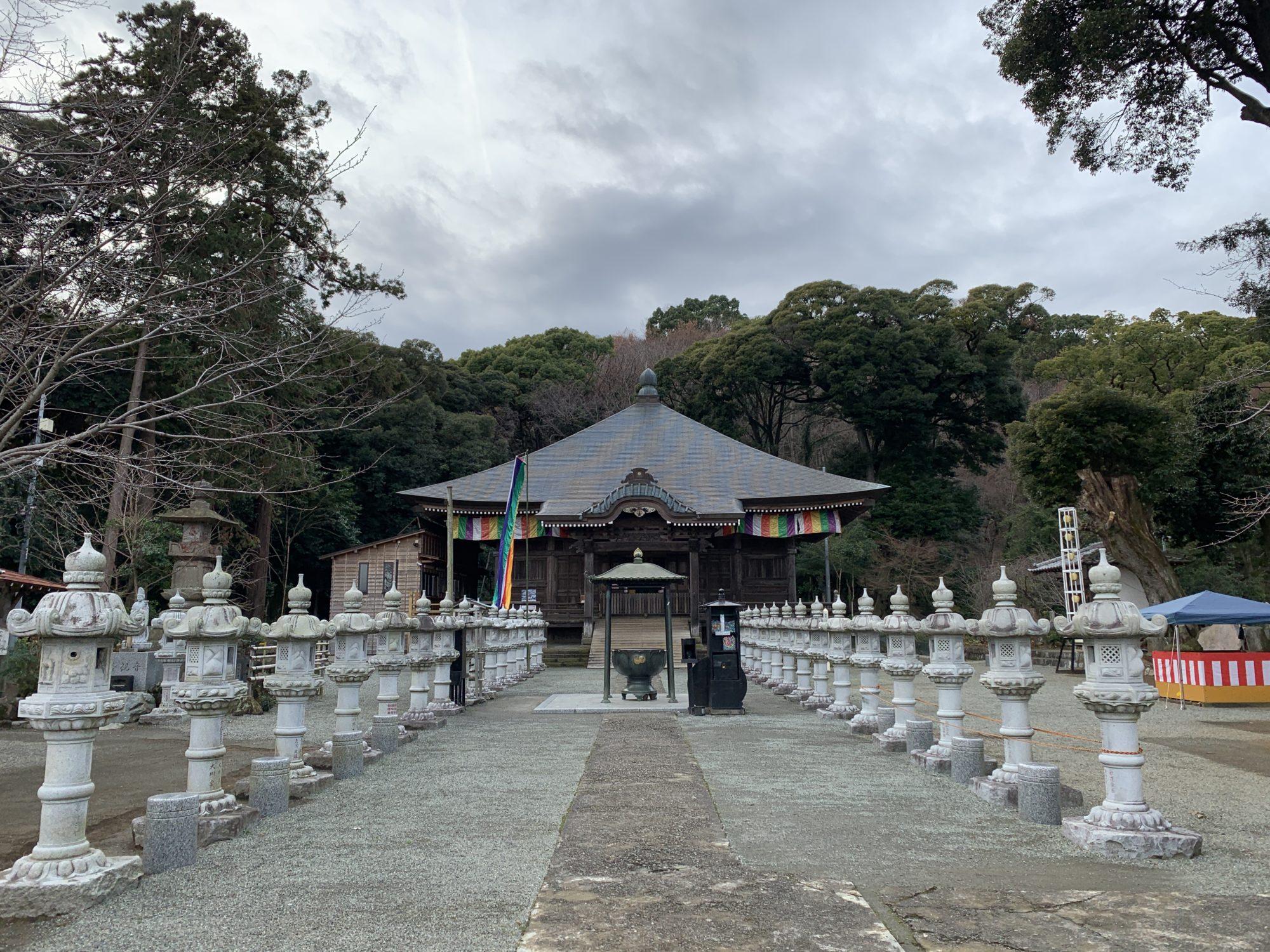 飯山長谷寺本堂