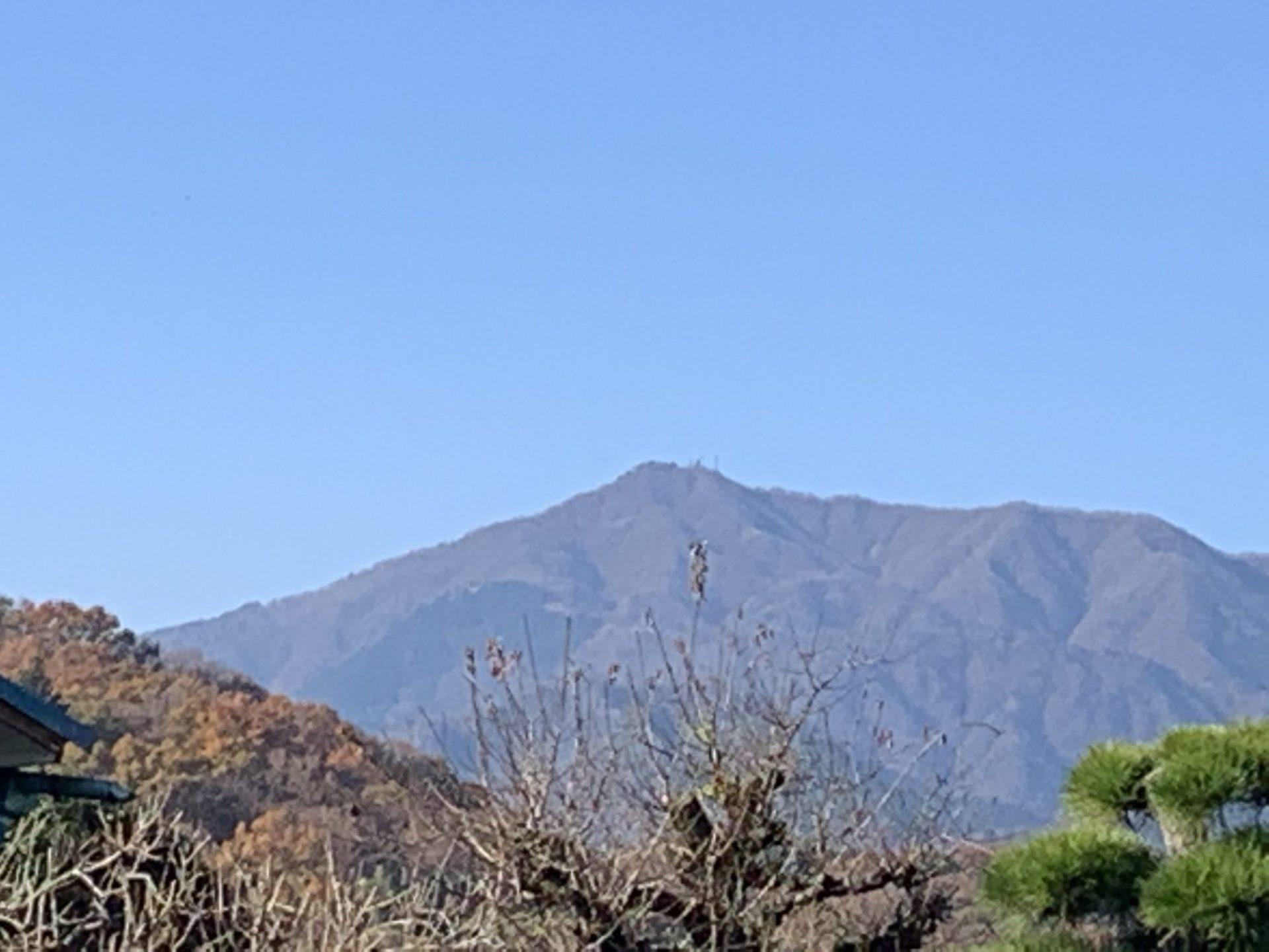 浜岡整体院からの大山
